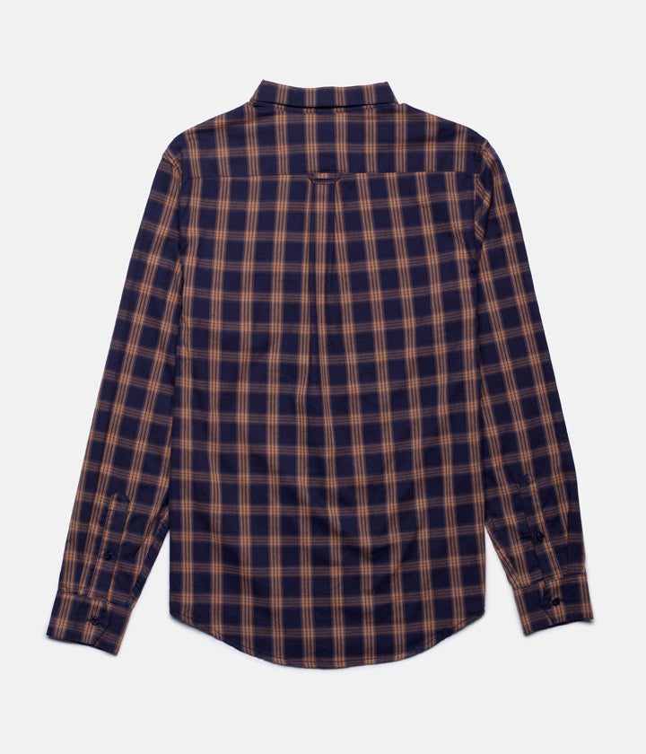 BARKLEY LS SHIRT NAVY