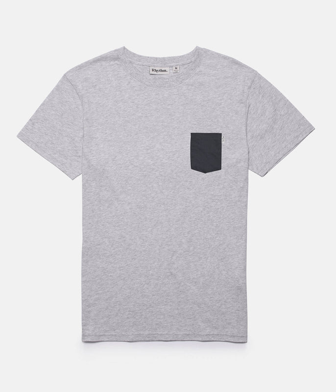 BASIC T-SHIRT GREY MARLE
