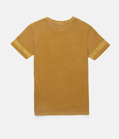 COLLEGE RADIO T-SHIRT WASHED ALMOND