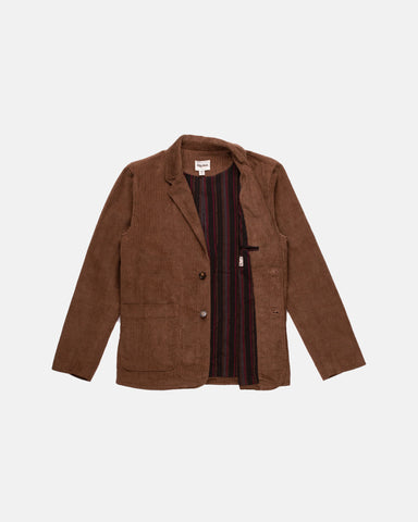 FIRST EDITION EASYBEAT TAILORED JACKET VINTAGE BROWN