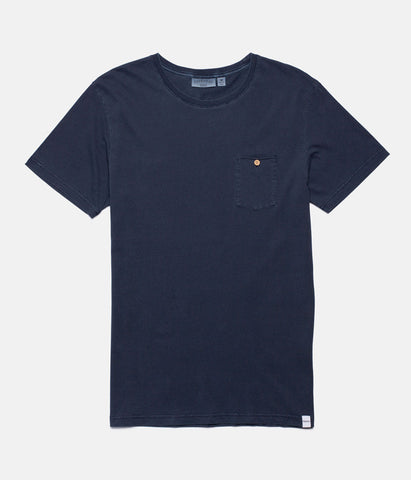 EVERYDAY WASH T-SHIRT WORN INDIGO