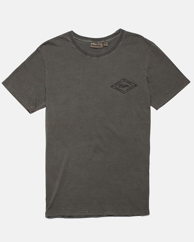 LABEL T-SHIRT DUSTED OLIVE