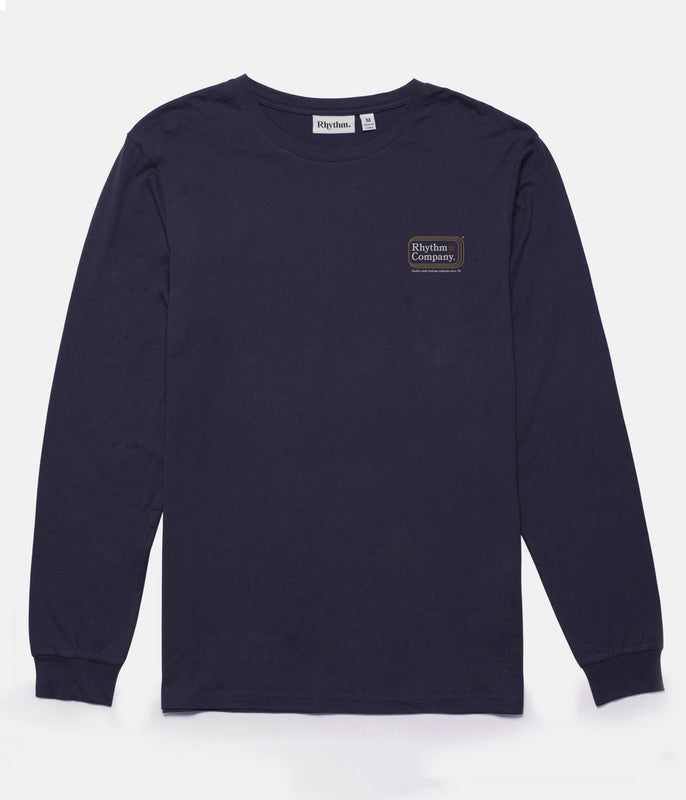 MACK LS T-SHIRT NAVY