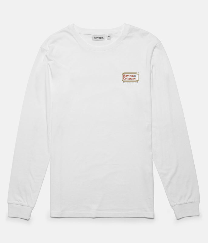 MACK LS T-SHIRT WHITE