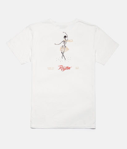 NIGHT DANCE T-SHIRT NATURAL WHITE