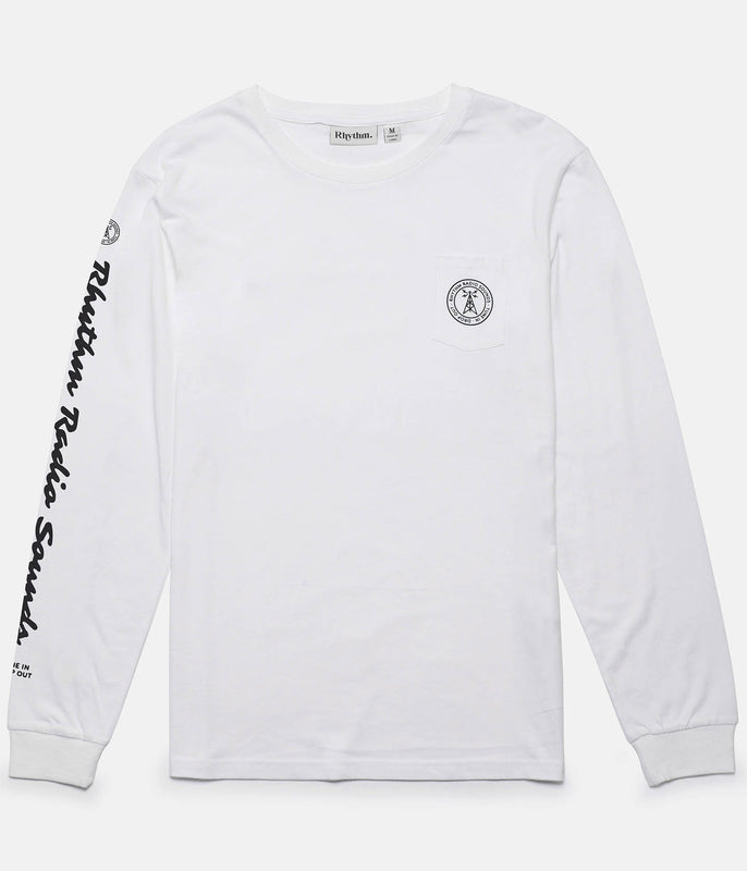 RADIO LS T-SHIRT WHITE