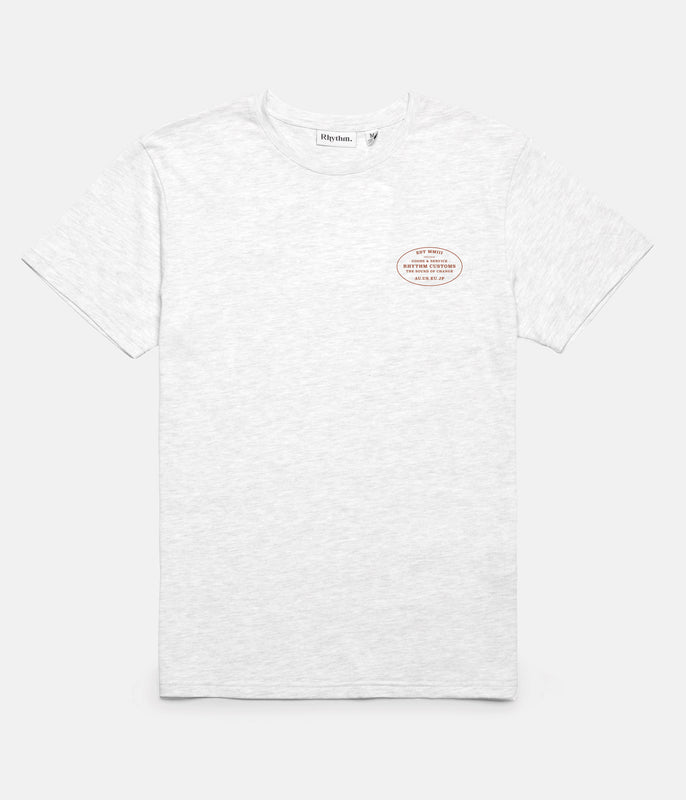 SERVICE T-SHIRT WHITE MARLE