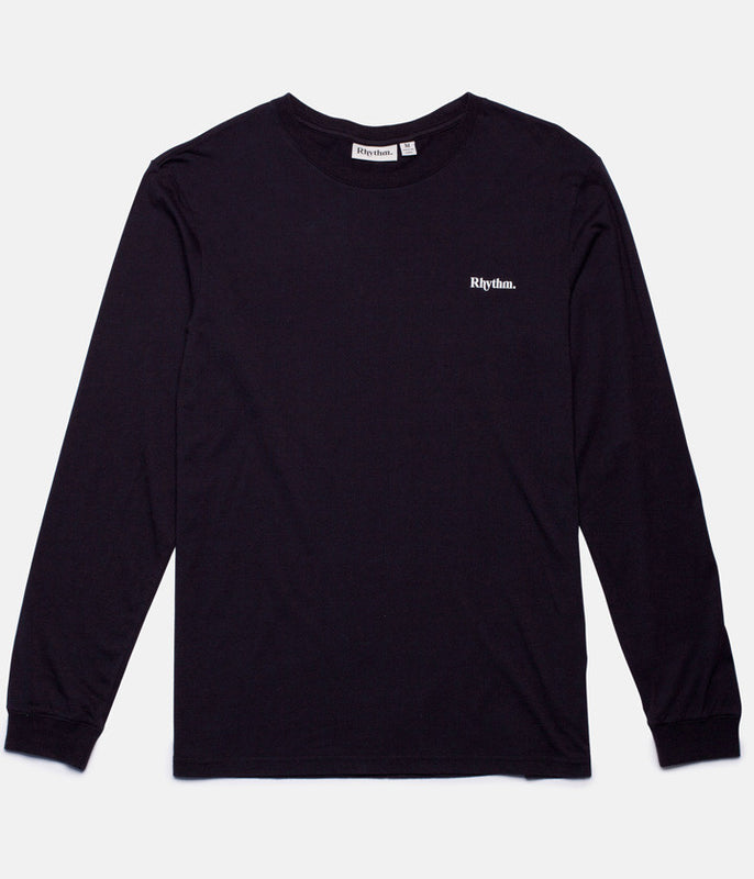 STAMP LS T-SHIRT BLACK
