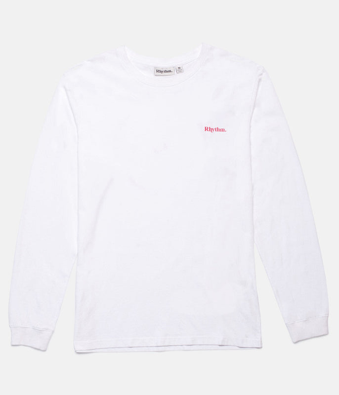 STAMP LS T-SHIRT WHITE