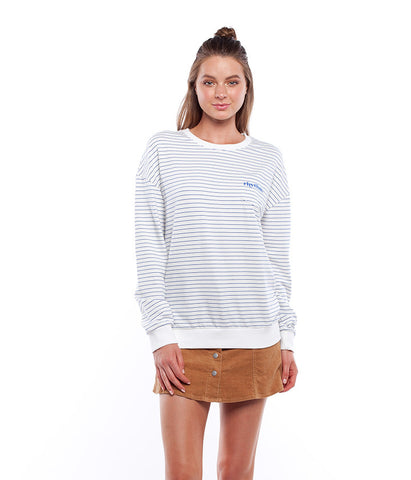 ESSENTIALS PULLOVER WHITE