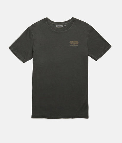 VENTURA T-SHIRT WASHED CHARCOAL