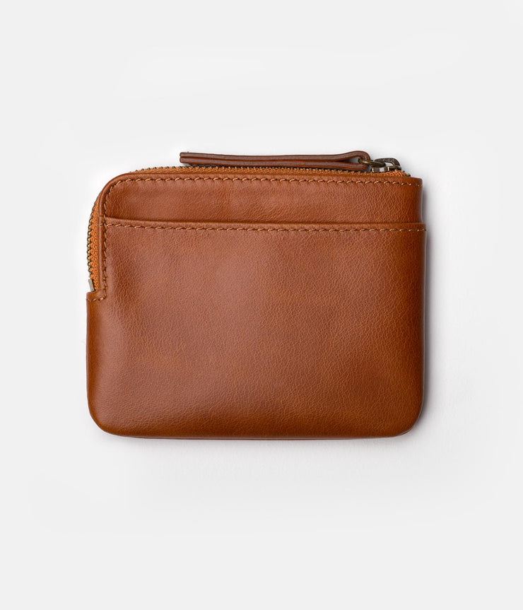 EVERYDAY ZIP WALLET TAN