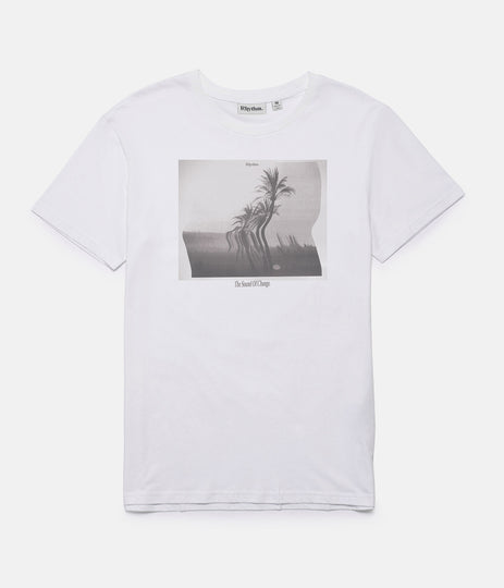 WARPED PALM T-SHIRT WHITE