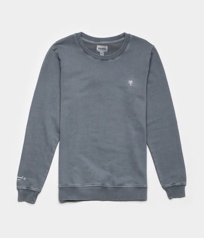 WASHED OUT PULLOVER DUSTED SLATE