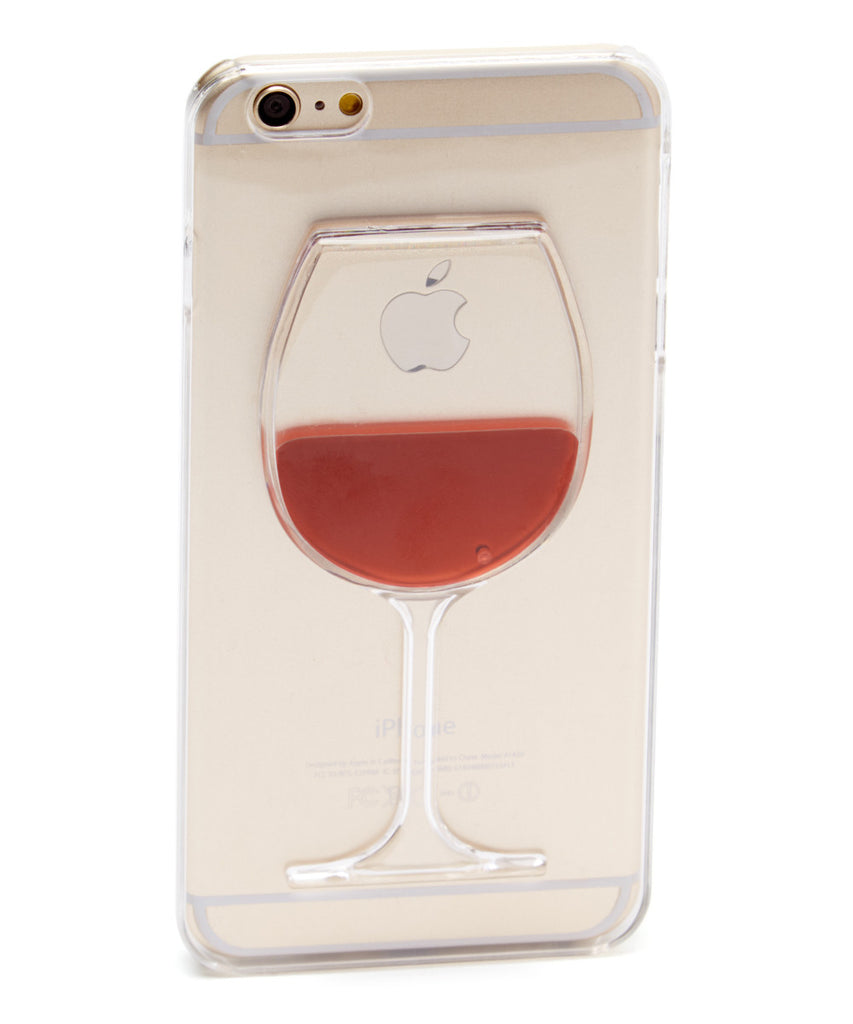 Red Wine Glass Case for iPhone 7 Plus - CheapPhoneCases.com