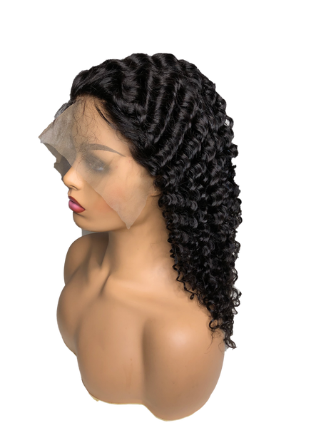 Lace Front | Jerry Curly Wig