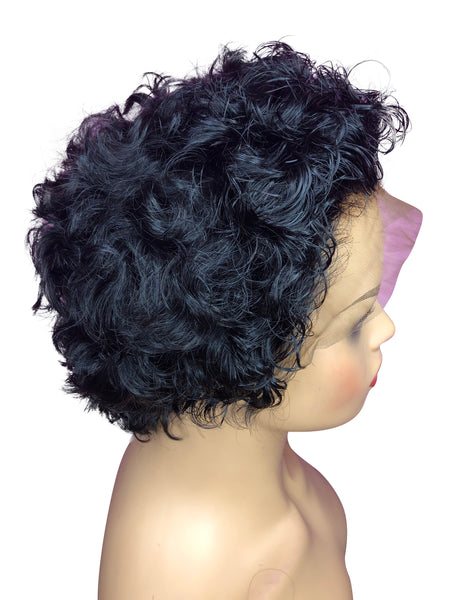 Custom Made Short Style Wig-Curly Cut-Nia Collection