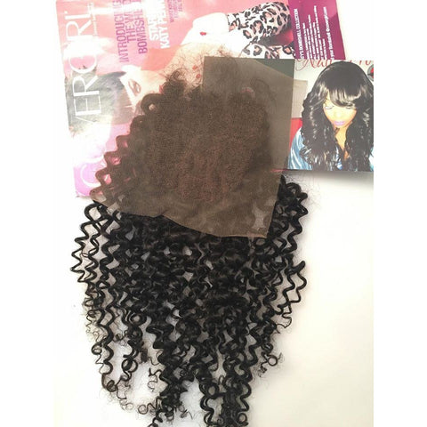 Exotic Curl Lace Closure -