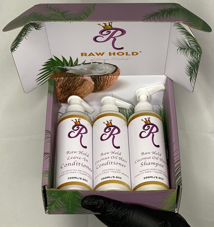 Raw Hold Shampoo Haircare Kit