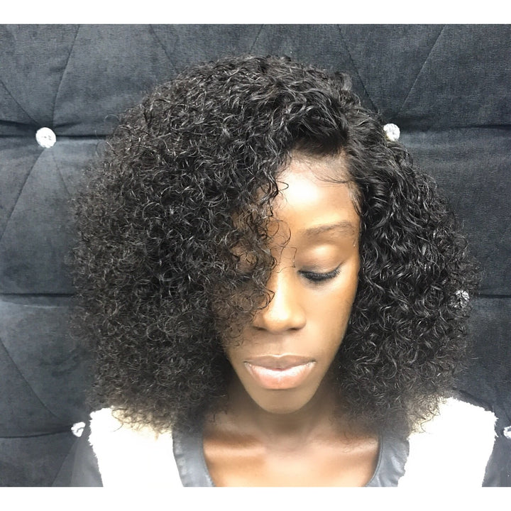 Apple-Kinky Curly Wig