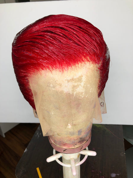 Ms Red Fire | Soft Wave Custom Shortstyle Wig