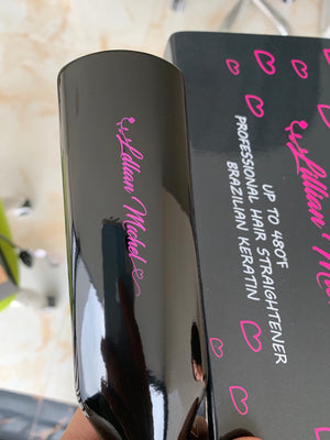 The Lillian Michel Straightening Flat Iron | Professional Hair Straightener| Beauty Products| Raw Hold Products