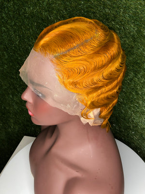 Lace Front Ginger Finger Wave
