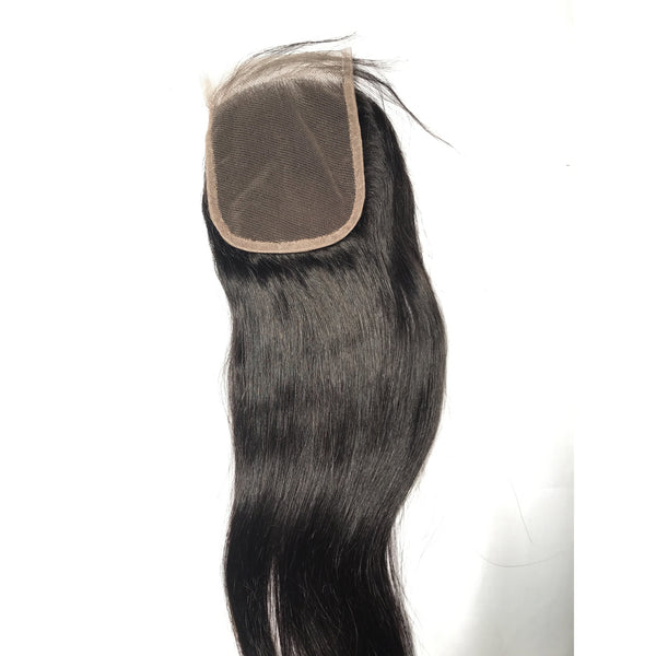 10A/Brazilian Straight Lace Closure 10A