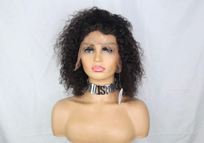 Water Wave Curl/ 13*4 Lace Front Wig