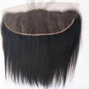 10A/Swiss Lace Brazilian Straight Frontal 10A