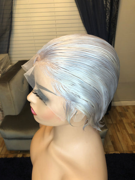 Lace front Rih Boycut Wig