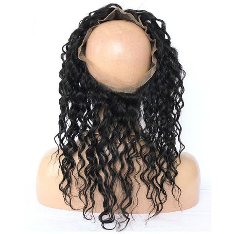 Lace Frontal 360 Natural Curl
