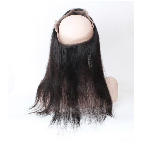 Hot New Lace Frontal 360 Brazilian-Full Cuticle-Straight