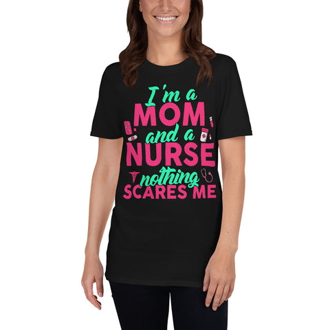 Nurse Mom T-Shirt-Women Short Sleeve
