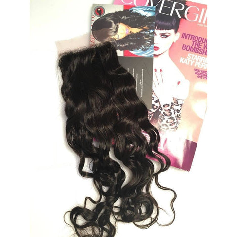 Deep Wave Brazilian Lace Closure - Lili's Touch Collections - 1