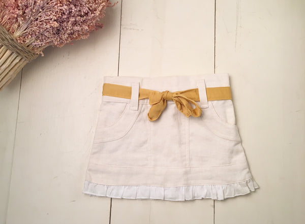 Fo Fum Skirt in Ivory