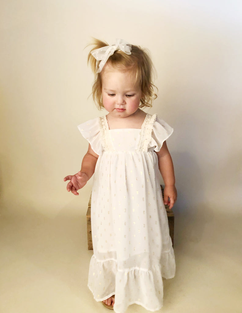 Kinsley in Gold Dot ~ Baby