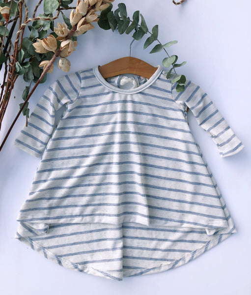 Tenley Dress in Stripe ~ Baby