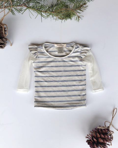 Aliza top in Stripe ~ Baby