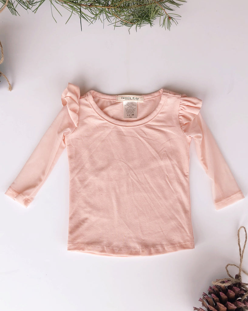 Aliza top in Blush ~ Baby