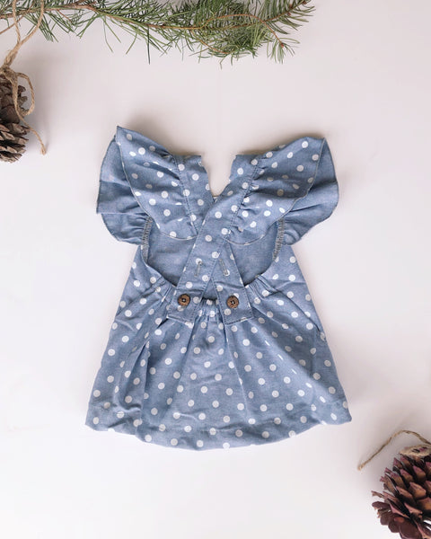 Vivi Dress in Dot ~ Baby