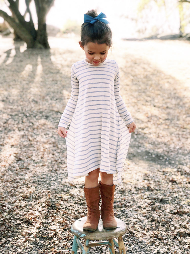 Tenley Dress in Stripe
