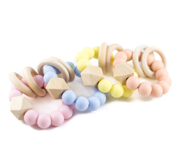Silicone Wooden Teether