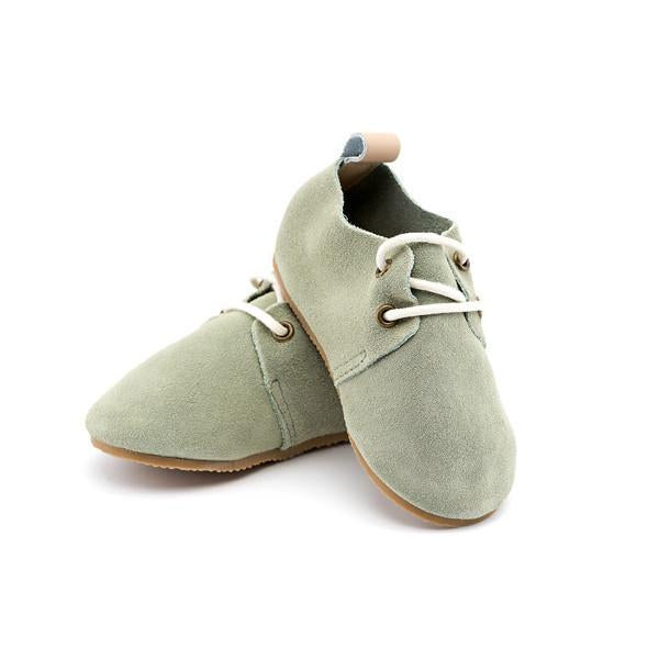 Olivine Toddler Hard Sole Shoe