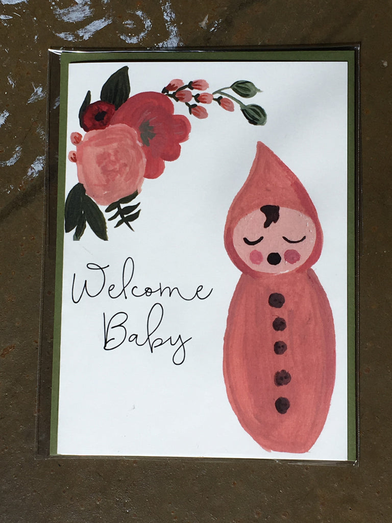 Cards - Welcome Baby card