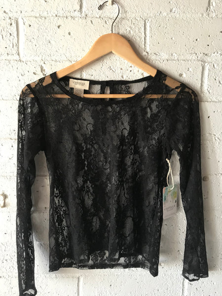 Layer Sheer Womens Top