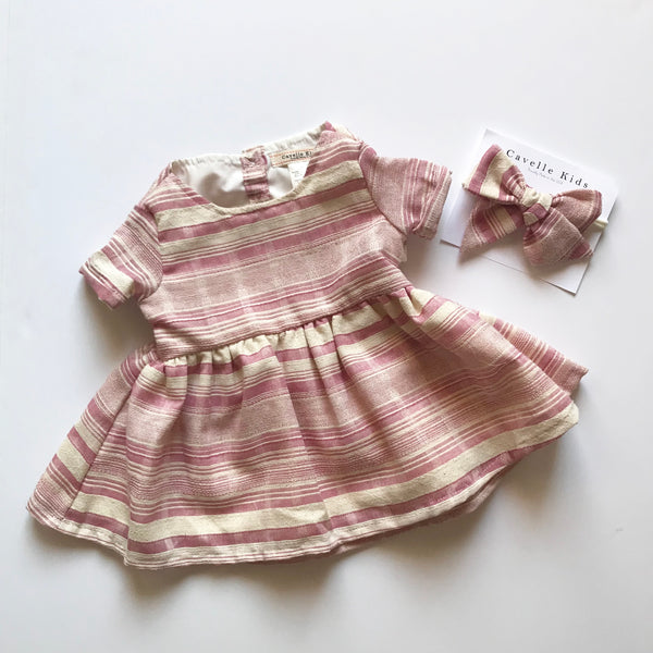 Emmy Dress in Boho Stripe ~ Baby