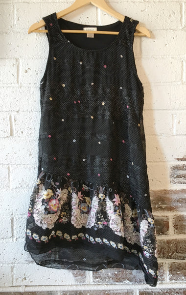 Lacy Dress in Black