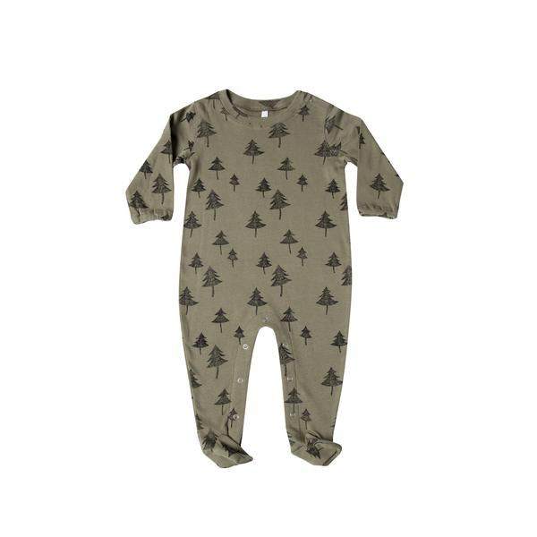 Tree Footed Onesie