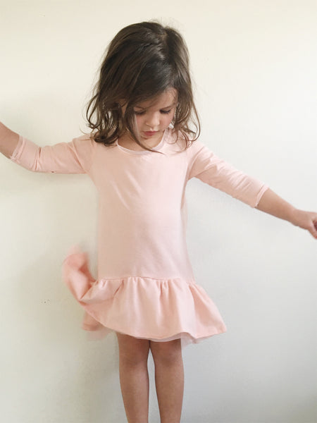 Korah Dress in Blush